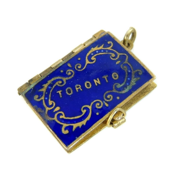 Antique Toronto Canada Photo Album Charm Pendant - Premier Estate Gallery