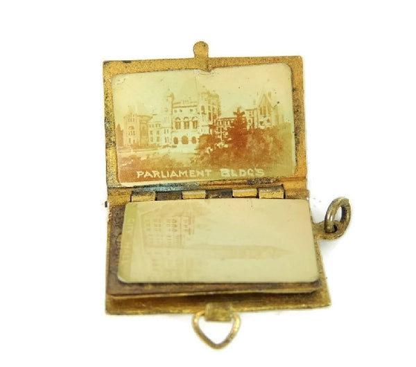 c1900 Blue Enamel Toronto Charm Photo Book - Premier Estate Gallery