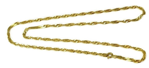 14k Singapore Chain Italy 18 Inch - Premier Estate Gallery