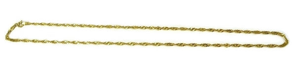 14k Singapore Chain Italy 18 Inch - Premier Estate Gallery 2