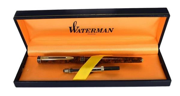 Vintage Waterman Exclusive Fountain Pen with Original Box Converter 18k Gold Nib - Premier Estate Gallery 2