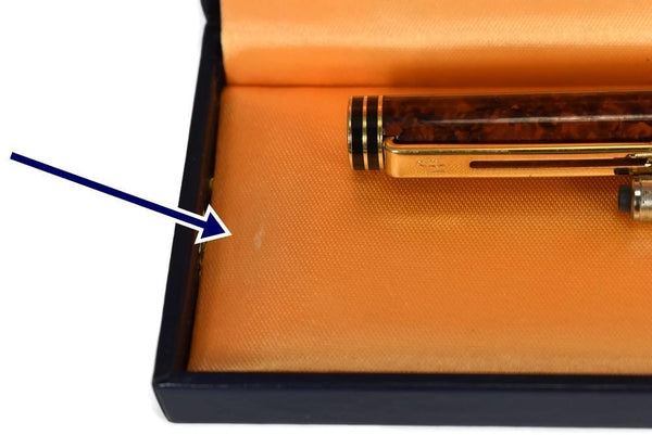 Vintage Waterman Exclusive Fountain Pen with Original Box Converter 18k Gold Nib