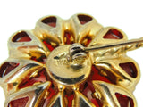 Vintage Weiss Flower Rhinestone Brooch Large Bright Stones - Premier Estate Gallery  - 5