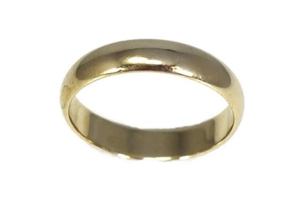 14k Gold Men's Wedding Band - Premier Estate Gallery 1