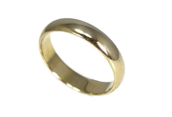14k Gold Men's Wedding Band - Premier Estate Gallery 2
