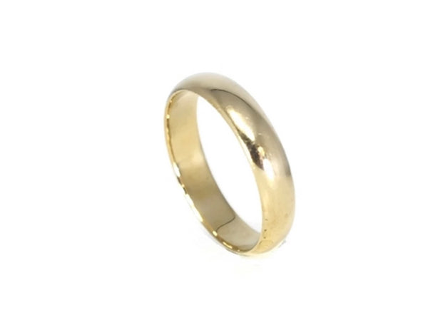 14k Gold Men's Wedding Band - Premier Estate Gallery 3