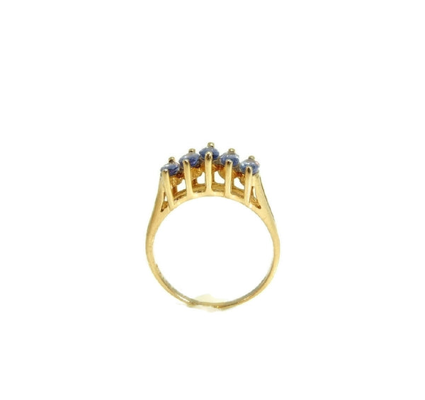 Marquise Tanzanite Ring 14k Gold Estate Beauty - Premier Estate Gallery  - 4
