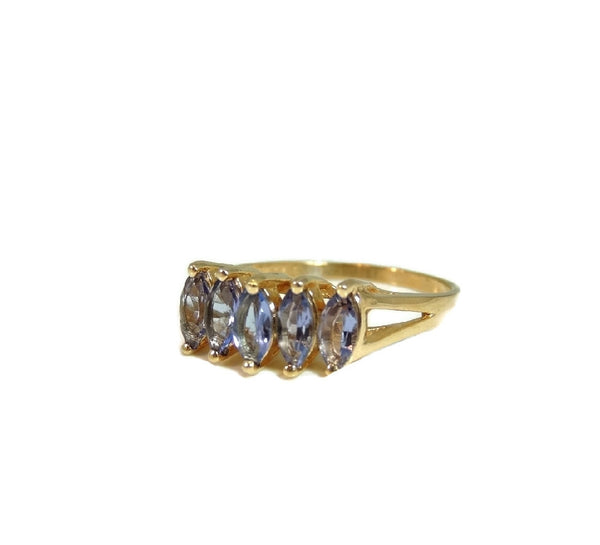 Marquise Tanzanite Ring 14k Gold Estate Beauty - Premier Estate Gallery  - 2