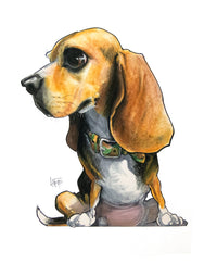 Pet Portrait Spotlight: Beagles