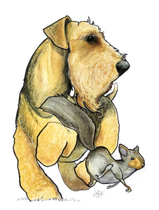 Breed Spotlight: The Airedale Terrier