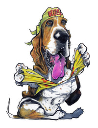Pet Portrait Spotlight: Basset Hounds