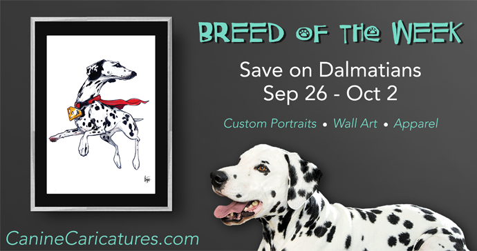 Breed of the Week - DALMATIANS