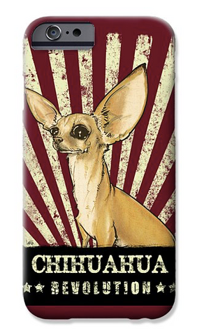 chihuahua revolution iPhone case