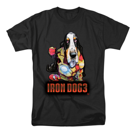 Iron Dog Basset Hound T-shirt