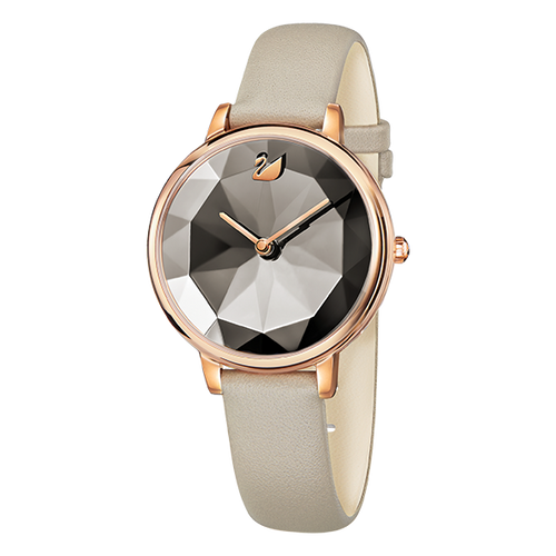 SWAROVSKI Crystal Lake Watch, Leather strap