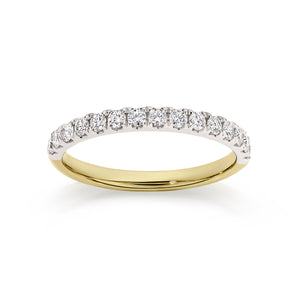18ct gold 0.45ct diamond ring