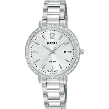 PULSAR Ladies Dress Watch, 50m