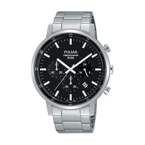 PULSAR Gents Chronograph Watch, 50m