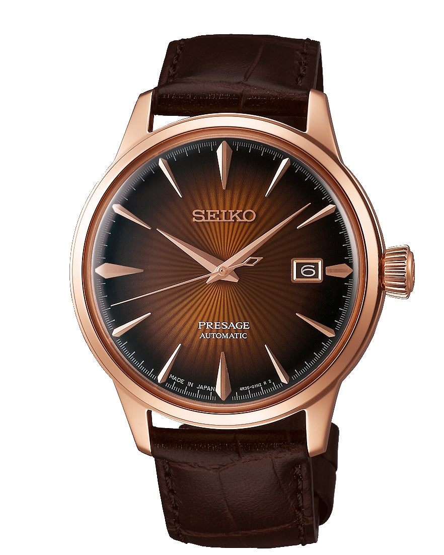 SEIKO Presage Automatic water resistant to 50m