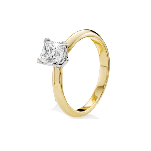 18ct gold 1ct diamond ring