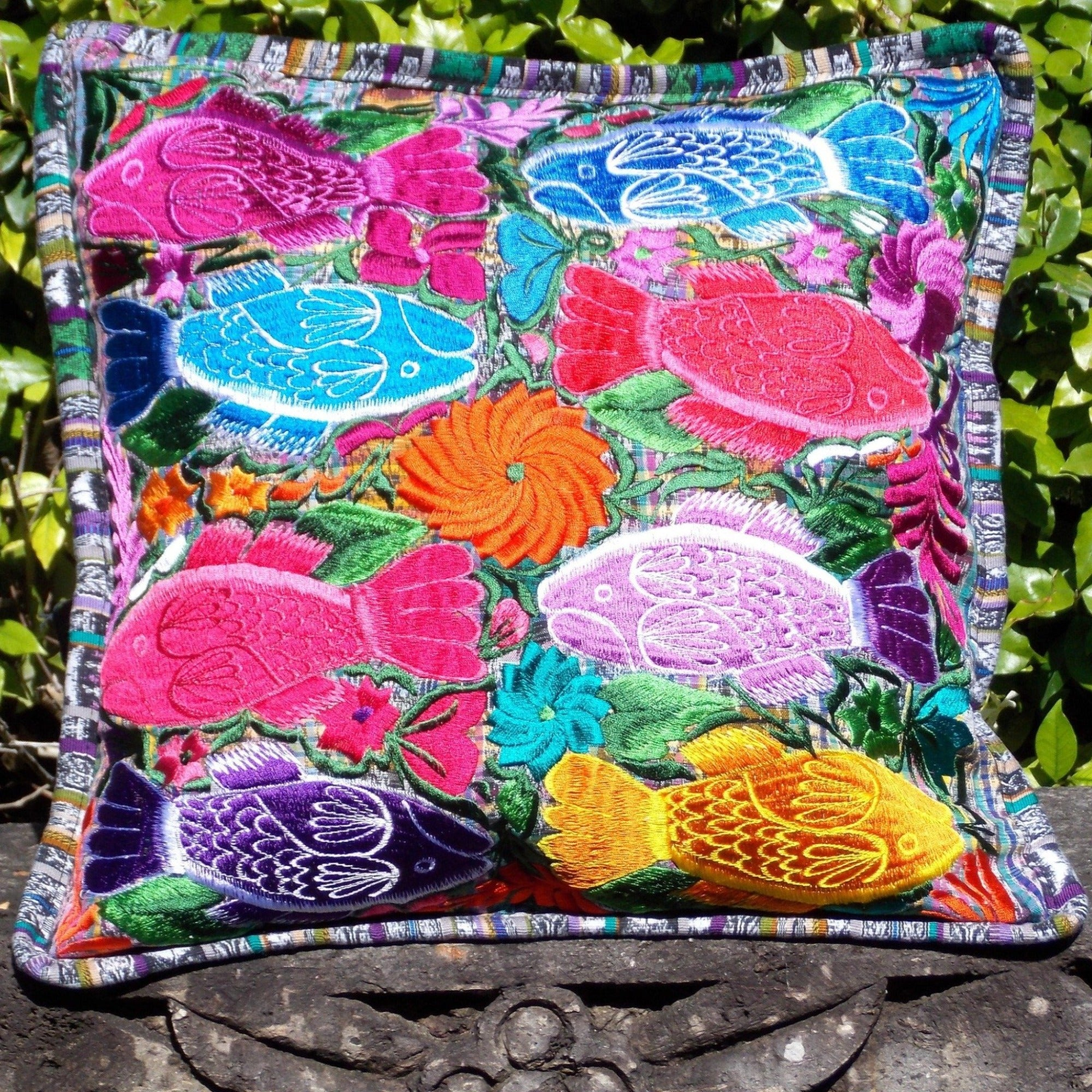 Colorful Fish Pillowcase PCFH10