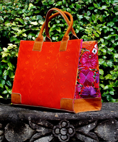 Coban Orange Tote TBC13