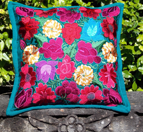 Flores Green Pillowcase PCF14
