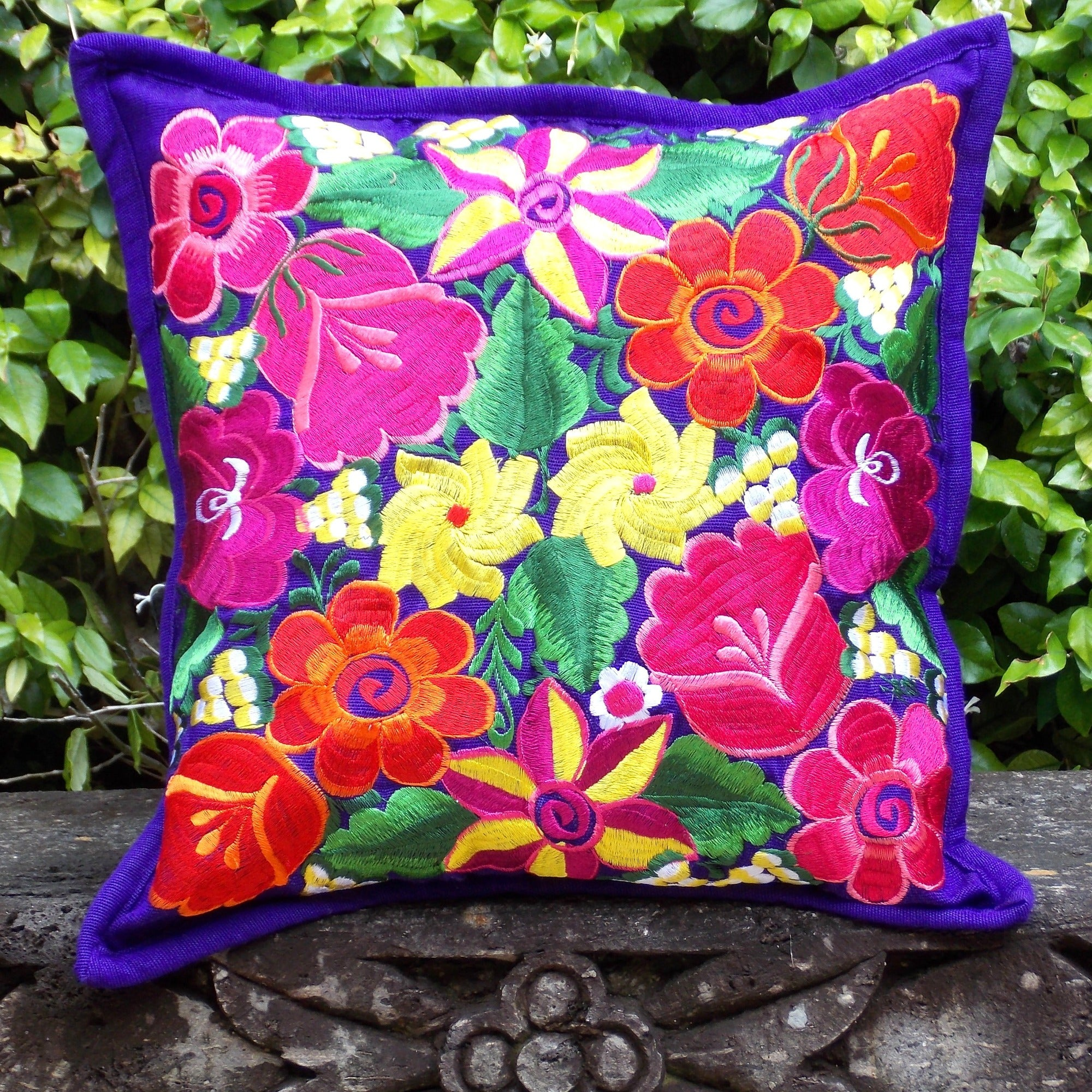Flores Purple Pillowcase PCF19