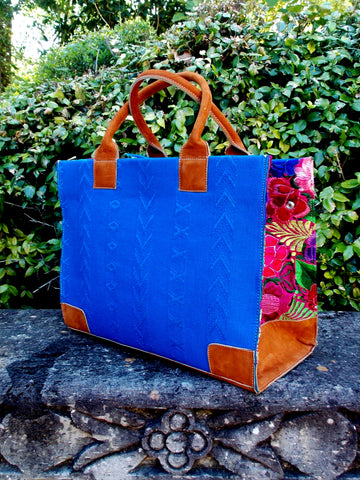 Coban Royal Blue Tote TBC21