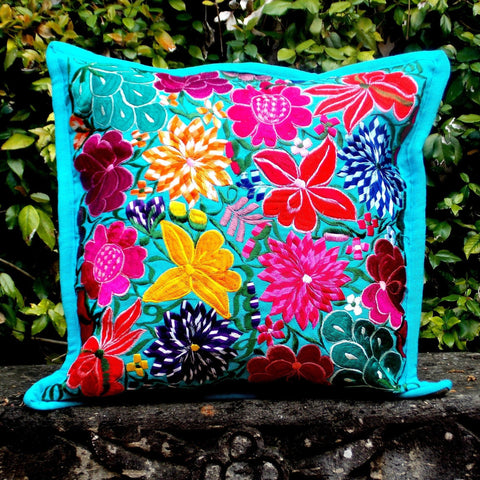 Flores Aqua Pillowcase PCF23