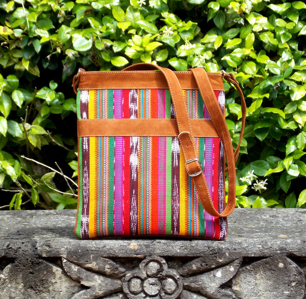 Fiesta Stripe Messenger Bag MBS50
