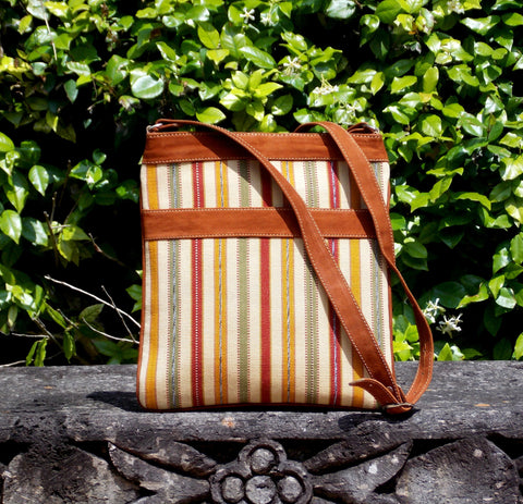 Santa Fe Stripe Messenger Bag MBS52