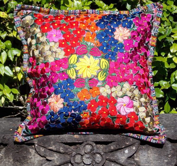 Flores Colorful Small Flower Pillowcase PCF7