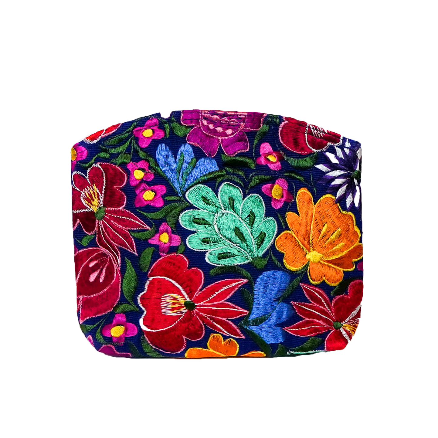 Flores Blue Floral Cosmetic Bag - CBF15