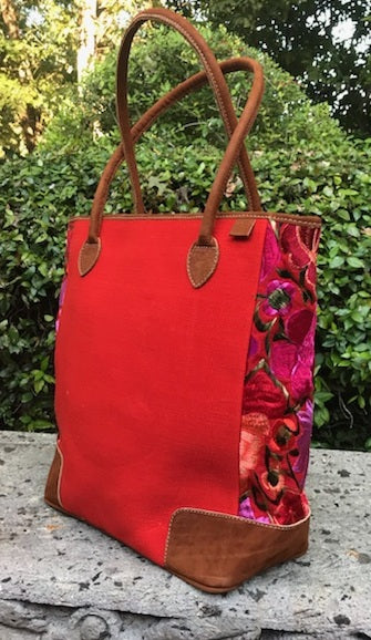 Antigua Orange Tote TBA13