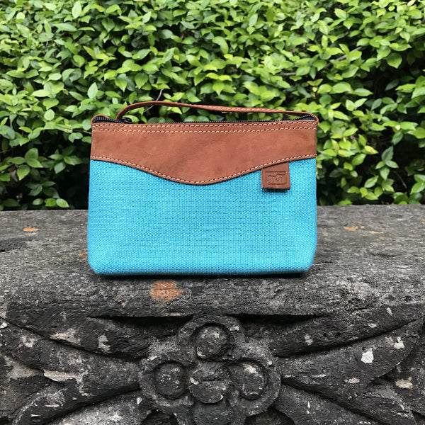Mayan Aqua Cross-body MCB23