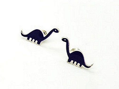 Basket Hill Watches and Gifts Blue Dinosaur Post Earrings - Basket HIll Watches & Gifts