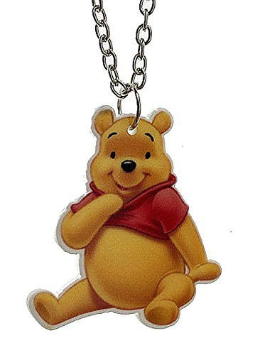 Basket Hill, Winnie the Pooh (one sided) Girls Necklace
