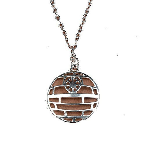 "Basket Hill Watches, Silver Tone Star Wars "" Death Star "" Mens or Womens Neck... - Basket HIll Watches & Gifts"