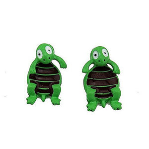 Basket Hill Watches and Gifts Turtle Post Earrings [Jewelry] - Basket HIll Watches & Gifts