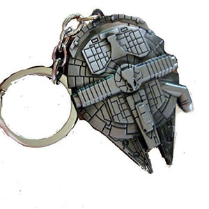 "Star Wars ""Millinnium Falcon"" Large Key Chain - Basket HIll Watches & Gifts"