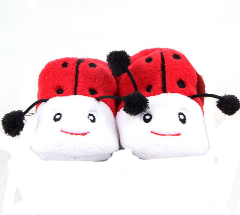 Adorable Lady but Girls Baby Bootie , Red ,Black and White (0-12 months) - Basket HIll Watches & Gifts