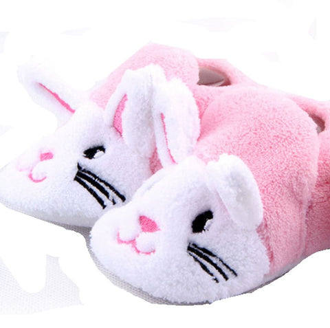 Adorable  Pink and White Bunny  Baby Booties (0-12 months) - Basket HIll Watches & Gifts