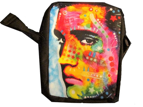 Elvis ( Peter Max Style) Girls or Womens Messanger Bag / Purse - Basket HIll Watches & Gifts