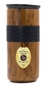 Limited Edition Wood Grain Tumbler 16 oz