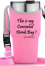 Load image into Gallery viewer, Concealed Drink - Tumbler / Water Tote - Pink