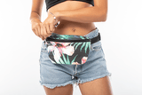 ALOHA Collection MINI HIP PACK | HIBISCUS/PALM
