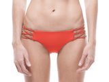 TANGERINE | LACE UP BIKINI BOTTOM