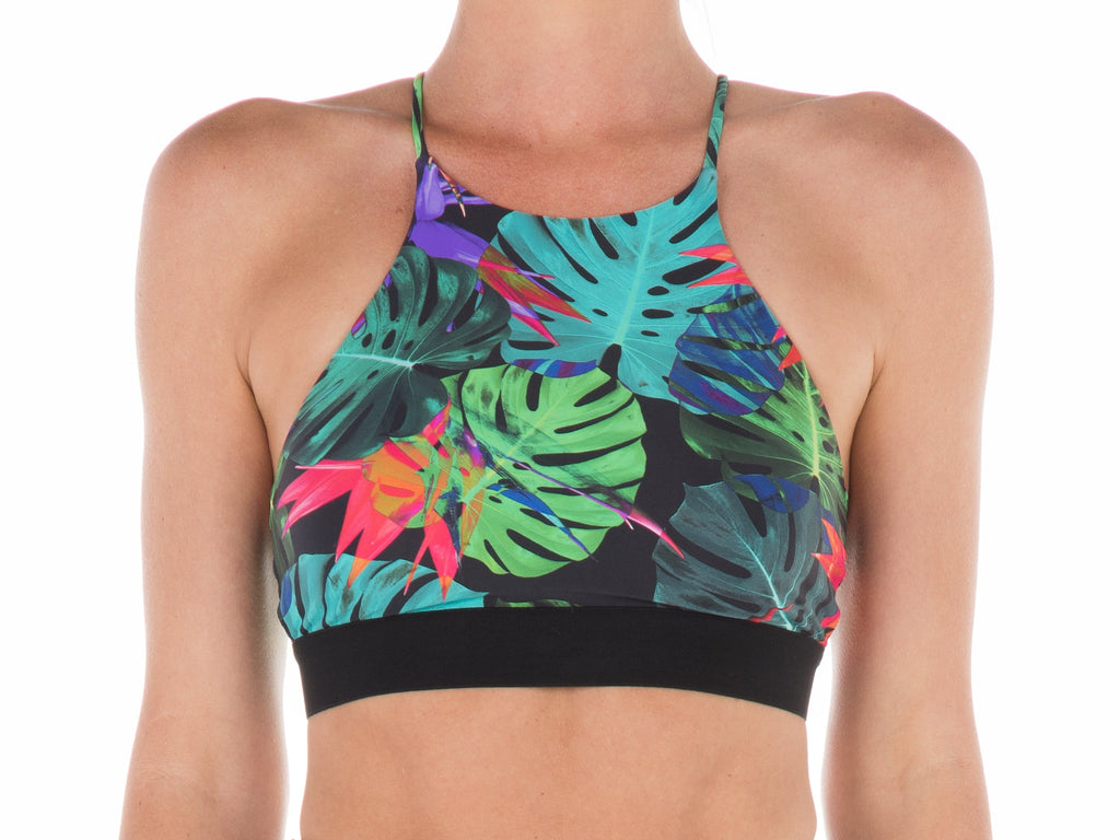 Bird of Paradise | Hi-Neck Bra