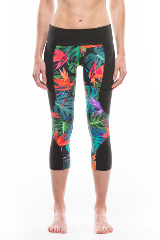 Bird of Paradise | Keala High Waist Capri